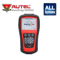 Scan-tool Für Airbags Kaufen -[Autel Distributor] Autel MD802 MaxiDiag Elite-Scan-Tool Full-System-Motor Getriebe ABS Airbag Alle System-Diagnose-Tool