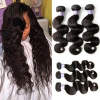 Wholesale Virgin Malaysian 32 - 8-32 Inch 3 Bundles 100% Malaysian Virgin Hair Weaves Unprocessed Natural Color Body Wave Wavy Human Hair Weft Weaves
