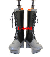 Wholesale Vocaloid Kagamine Len - Wholesale-VOCALOID Kagamine Len Boots Anime Cosplay Men's shoes Custom Made Halloween High Quality 7628