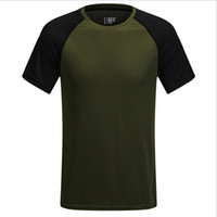 Wholesale Fashion Fitness Outdoor Quick Dry T Shirts Summer Tops Sports Mens Shirt For Camping Hiking
