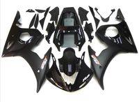 Wholesale Motorcycle Fairing Kit Yzf R6 - New Hot motorcycle ABS motorcycle Fairing Kits 100% Fit For YAMAHA YZF-R6 03-05 YZF600 2003 2004 2005 03 04 05 YZF R6 glossy black matte