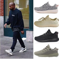 Wholesale Brown Oxfords - Kanye West 350 Boost Pirate Black Turtle Dove Moonrock Oxford Tan Boost 350 V2 SPLY Running Shoes Grey Orange Stripes Zebra