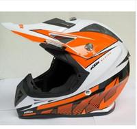 Wholesale Full Face Half Helmet - Hot sell! for ktm motocross Off Road Helmet ATV Dirt bike Downhill MTB DH racing helmet cross Helmet capacetes