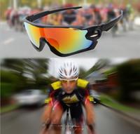 Wholesale Sunglasses Per - Jawbreaker Men Bicycle Sunglasses Outdoor Bicycle Glasses UV400 Polarized Cycling Eyewear Goggles 10 Pairs Per Lot