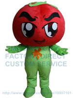 Wholesale Tomato Carnival Customs - tomato mascot costume custom cartoon character cosply adult size carnival costume 3096