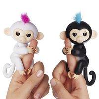 Wholesale Monkey Lovely - Newest Lovely Monkey Interactive Fingerlings baby monkey fingerlings Finger Toys Smart Touch Monkey Toy As Christmas Xmas Gift