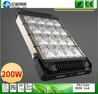 Wholesale high lumens Lumileds led flood lights W W W led tunnel Light lm w with meanwell driver AC85 V years warranty