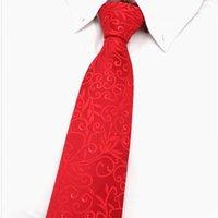 ingrosso scatole da regalo fazzoletto-3.35inch (8.5 Cm) Larghezza Ensemble vino rosso Paisley Man Tie, fazzoletto e gemelli confezione regalo di molti colori