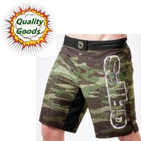 Wholesale Camo Cross - Quality goods-MMA CAMO SNAKE HYBRID TRAINING SHORTS Muay Thai MMA Shorts Fight Shorts-Black