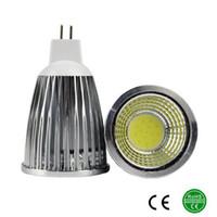 12v ac dc bombillas led al por mayor-MR16 Bombillas LED de luz AC / DC 12V 9W 12W 15W COB LED lámpara de luz led Proyector