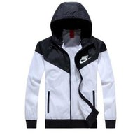 Wholesale jackets model men - Fall-Hot ! Men Spring Autumn Thin Jacket Coat,Men and women sports windbreaker jacket explosion Black models Windrunner jacket couple