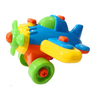 Wholesale Plastics Machinery - Brand New DIY Disassemble Machinery & Animals Model Design Educational Toys for children Kid Baby Free Shipping[TY03031]