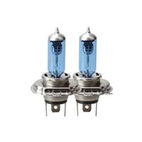 Wholesale blue headlight bulb online - 2 H7 V W Car Auto Headlights Lamp Bulb Blue Plated Xenon Light Bulb Car External Light Headlight Bump