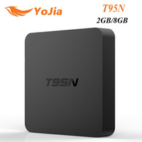 Tv internet Prix-T95N Mini M8Spro Android 6.0 TV Box 4K Internet Streaming TV S905X Quad core 2gb 8gb