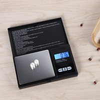 Wholesale Digital Grams Balance - 100g 200g 300g 500g x 0.01g Mini Portable Digital Scale Jewelry Pocket Balance Weight Gram LCD Backlight Electronic Precise Kitchen Scale