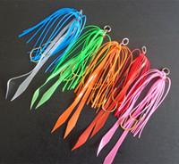 Wholesale Jig Head Skirt - 12# 10Pcs Silicone Skirt Assist Hook Jigging Hook Sea Fishing Hooks Jig Head Fishing Hook Super Strong Lures Bait