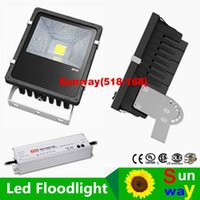 Mean Well Drivers 100W 200W 300W 400W Led Floodlights IP65 Outdoor Canopy Led Flood Lights AC 110-240V Garantie 5 ans CSA UL