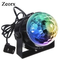 DJ light Sound Activated Party Lights Disco Ball Strobe Club lights Эффект Magic Mini Led Stage Lights для дома KTV Xmas Wedding