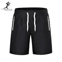 Wholesale Board Gym - Wholesale-Men Sports Drawstring Black Outdoor Running Board Shorts Hot Gym And Fitness Short Professional Male Quick Dry Short Pants