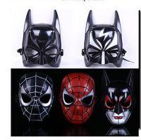 Wholesale Maschera Batman - 2016 New Batman Masks ballo in maschera Halloween Makeup Dance Mask Boys Toys