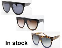 Wholesale Designer Women Top - Hot sales 2017 French brand Designer Audrey 41026 Shadow FU9DV 100% Top original quality women sunglasses 6 color With case and box