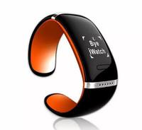 l12s запястье оптовых-Многофункциональный смарт-браслет L12S LED Bluetooth браслет наручные часы дизайн для IOS iPhone Samsung Android телефоны носимых электронных