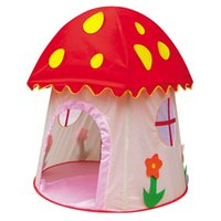 Wholesale Kids Large Indoor Tents - Zorn toys -Large Space Indoor Outdoor Princess Castle Children Kids Game Play Tent Toy Tents