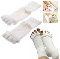 счастливые ноги оптовых-Для лета или весны счастливые ноги выравнивание носки удобные пальцы спальные носки массаж пять ног носки