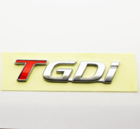 1PC TGDi Car Emblem Sticker per 2011 2012 KIA Sportage 2.0 Turbo T-GDI Badge emblema economico Honda