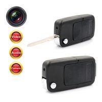 Wholesale Hidden Car Key Spy Camera - Mini Car Key Chain Hidden Spy Camera Pinhole Security DVR Video Recorder Cam HD 720P Key Chain Hidden Spy Camera Pinhole Security DVR