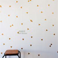 ingrosso aerei macchina fotografica-Autoadesivo della parete del triangolo dell'oro del modello, decalcomanie smontabili della parete di arte della decorazione domestica Autoadesivo della parete dell'aereo del fumetto di trasporto libero