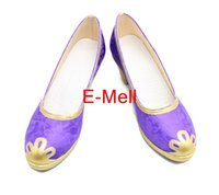 Wholesale Yellow Costume Boots - Wholesale-Lovelive Boots Tojo Nozomi Cosplay Women's shoes High Heels Shoes Custom Made Halloween High Quality B4179