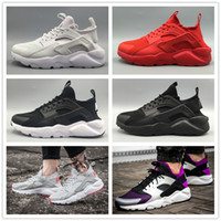 Neu 2016 Weiß Schwarz Huaraches IV Laufschuhe Damen Herren Run Ultra Discount Casual Huarache Luftkissen Sneakers Original Casual Stiefel 5-12