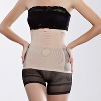 Wholesale tummy firming wrap - Wholesale- Women Postpartum Belly Recovery Girdle Tummy Wrap Corset Body Shaper Belt Band