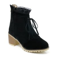 Wholesale Germany Autumn - 2018 Germany new arrival brand sexy girl short boots Martin boots, autumn and winter high quality production female boots, big size 34-43