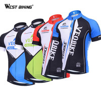 Wholesale Bicycling Sleeves Design - Brand Design Riding Short Sleeve T-shirts Men Cycling Jersey Ropa Ciclismo Bicycle Sportswear Bike Breathable Quick Dry Clothing