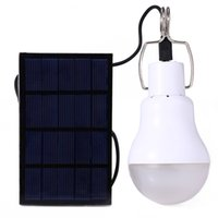 Wholesale Solar Charge Garden Lights - S-1200 15W 130LM Portable Led Bulb Garden Solar Powered Light Charged Solar Energy Lamp High Quality Free Shipping