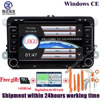 "Wholesale Vw Tiguan Gps - rns510 2din 7"" canbus WIFI Car DVD GPS Navigation for VW JETTA PASSAT B6 CC GOLF 5 6 POLO Touran Tiguan Caddy SEAT"