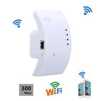 repetidor wifi al por mayor-Mini Wireless Wifi Repetidor 300Mbps Extender IEEE 802.11n b g Enrutador de red Extensor de largo alcance Booster UK EU US AU Plug