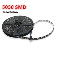 Holiday black lighting dc - Led strip RGBW SMD m leds RGB warm white mixed color PCB BLACK LED light lamps ribbon waterproof non waterproof