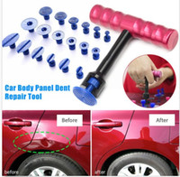 Wholesale Cup Lifter - PDR Tools Kit Paintless Dent Repair Tools Dent Removal Mini Lifter Dent Puller Small Red T-Bar Puller Glue Tabs Suction Cups