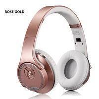 Wholesale Ear Headphone Bluetooth Radio Mp3 - Hot SODO MH1 NFC 2in1 Twist-out Speaker Bluetooth Headphone With FM Radio  AUX TF Card MP3 Sports Magic Headband Wireless Headset 39-EM