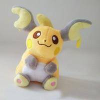"Wholesale Japanese Hot Baby Doll - Hot Sale 6"" 15cm Raichu Japanese Anime Cartoon pikachu Plush Doll Toy For Baby Gifts Wholesale 040"