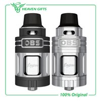 Wholesale Flow Engine - Wholesale-100% Original OBS Engine RTA RBA Atomizer Side Filling Top Air Flow Temperature Control Engine Tank VS OBS Crius Tank