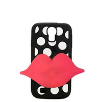 Wholesale Galaxy S4 Polka Dots - New Arrival Polka Dots Detachable Soft Silicone Back Case Cover Compatible With Samsung Galaxy S4 I9500