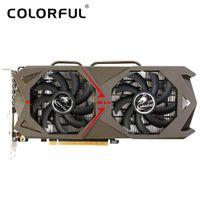 Wholesale Pci Express Graphics Card Nvidia - Colorful NVIDIA GeForce GTX 1060 GPU 3GB GDDR5 192bit PCI-E X16 3.0 VR Ready Video Graphics Card DVI+HDMI+3*DP Port 2 Fans