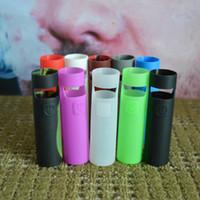 ingrosso vaporizzatore di joyetech-Custodia in silicone per silicone Custodia in silicone Aio D22 per uso alimentare Custodia in gomma colorata per Joyetech eGo Aio D22 Batteria Vaporizzatore DHL Free