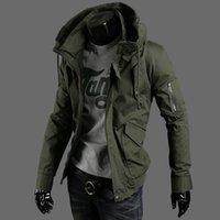 Wholesale Black Velvet Sport Coat - Fall-2016 hot Brand winter jacket men Plus velvet warm wind parka plus size black hooded Outdoor sport winter coat men