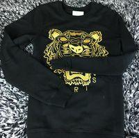 Wholesale embroidered shirts women - Free Shipping 2018 Winter Fashion Hot Men's T-shirt Embroidered Sweatshirt Fashion Brand Sweatshirt Hoodie KEN Hoodies & Sweatshirts