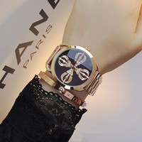 Wholesale Buddha Watch - GUOU Watches ultra - popular models Buddha statue of men and women Watch neutral tide personality rose gold stainless steel strap watch